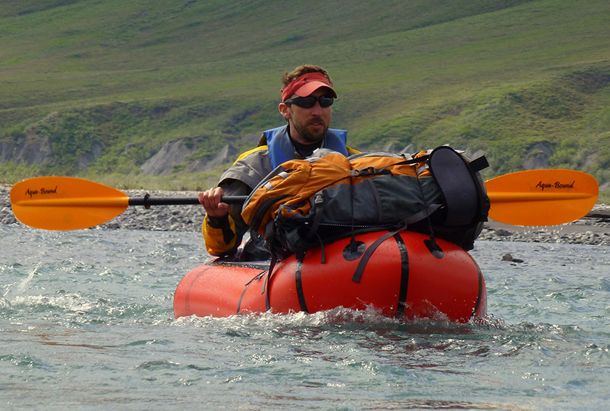 Ed Plumb, owner of Northern Alaska Packrafts